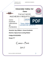 Ensayo de Lavado de Asfalto 2017-i