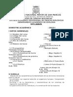 2015-1 Fisiologia Animal Prof. Haydee Temoche Plan 2003