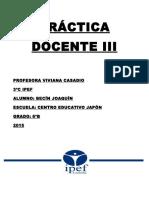 Práctica Docente III