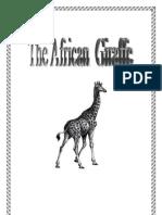 Giraffe Activity by Donnette E Davis, St Aiden's Homeschool, South Africa