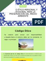 Código Ético Personal y Professional Para La Preservación