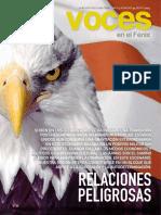Revista Felix, Relaciones Peligrosas EUA