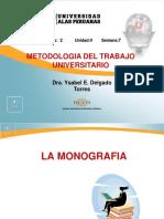Ayuda 7- La Monografia