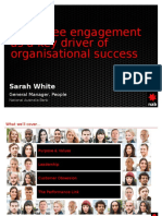 HR Conference 2015 - Employee Engagement - Sarah White