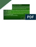 Service Accounting Sample