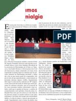 Conozcamos La Fibromialgia charla en La Encarnación de Villanueva de los Infantes por Luisa Arias ( presidenta de Afisa)