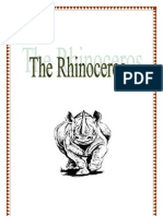 Rhino activity by Donnette E Davis, St Aiden's Homeschool, South Africa