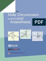 Who Mc Local Anaesthesia Circumcision