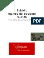 Suicidio Manejo Del Paciente Suicida