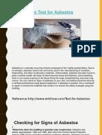 Asbestos Testing Gladstone