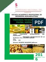 - Procesos Tecnologicos de La Maracuya y Procesos Tecnologicos de La Papa