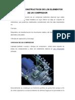 Aspectos Constructivos de Los Elementos de Un Compresor