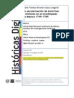 EL LARGO CAMINO A LA SECULARIZACIÓN EN EL ARZOBISPADO DE MÉXICO.pdf
