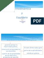 Termodinámica y Equilibrio INTRO