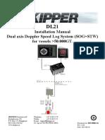 DM-M006-1424 DL21 Installation Manual