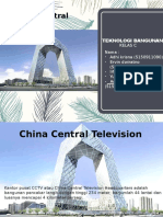 Tugas Kelompok_Teknologi Bangunan_Bangunan Gedung CCTV China