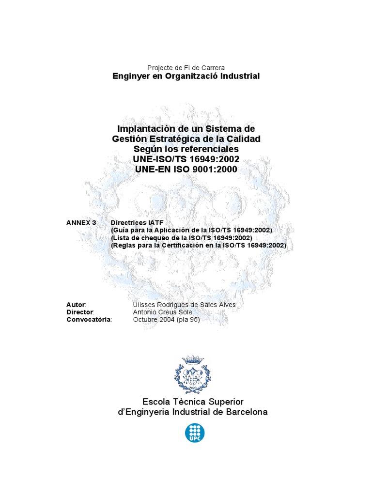 Lista de Verificación ISO TS 16949.pdf