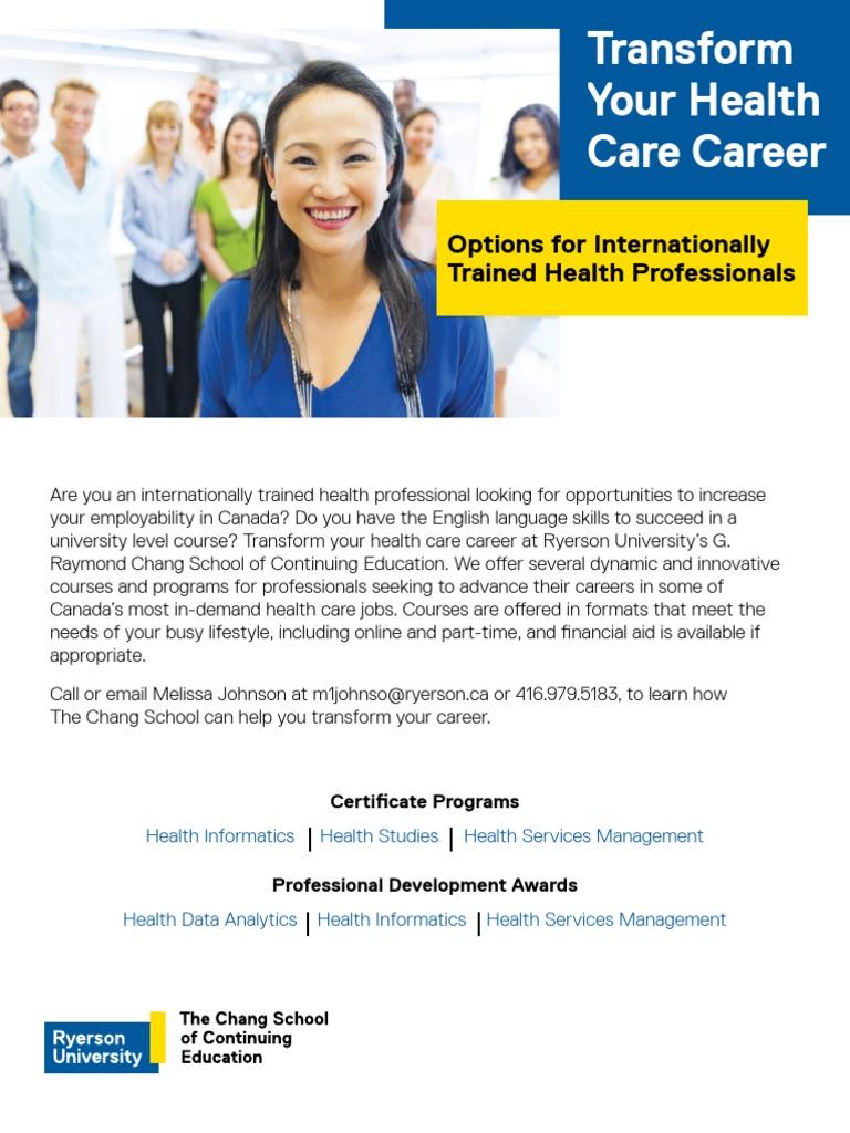 Health programs flyer march 2017 final professional health programs flyer march 2017 final professional certification health informatics xflitez Choice Image
