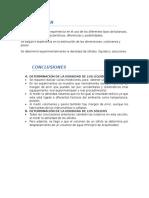 Resumen Conclusiones 1 Cuestionario 3