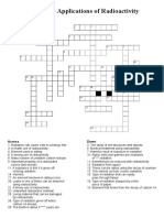 i Gcse 73 Crossword Applications of Radioactivity