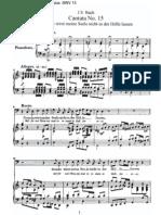 BWV15 - Denn du wirst meine Seele nicht in der Hölle lassen