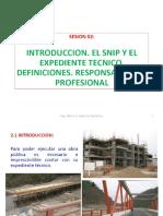 S 02-Planificación Obras-Expediente Técnico. Responsabilidad Profesional