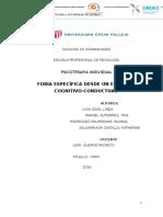 Monografía Final de Fobia Específica.