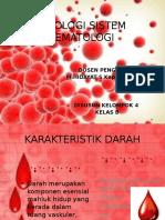 Fisiologi Sistem Hematologi