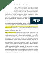 at1 - individual research analysis