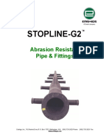 Abrasion Resistant Pipes Refer Dimensions