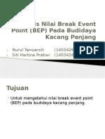 Analisis BEP Kacang Panjang.pptx