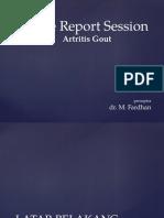 Crs Artritis Gout