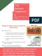 belgium hegemony