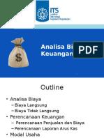 13-Analisa Biaya Dan Keuangan