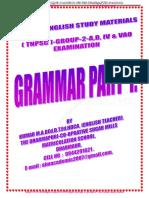 3 Tnpsc Group 2,A,b,IV & Vao General English Sthdy Materials