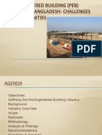 A Study on Pre-Engineered Building (PEB) Sector of Bangladesh_Challenges & Opportunities