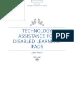 speced tech assistance