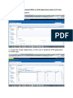 How to Load Journals Using FDMEE to HFM Application