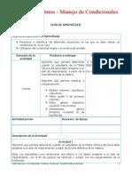 Guia de Aprendizaje Tecnico en Sistemas 2 - Condiconal Simple y Anidado