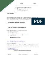 RF Optimization Solutions