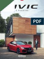 Catalogo Civic 5p 2017