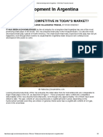 Market Development in Argentina - Oil & Gas Financial Journal