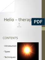 Heliotherapy