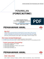 Week 2-3 Forecasting