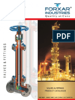 Forxar Valvola Product Catalogue