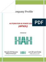 Profile of APSD- HAH