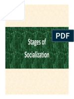 Unit 4 - Stages of Socialization