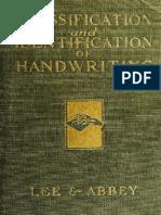 1922 Handwriting