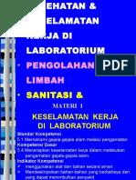 5.4 Bahan Tayang K3LH, Limbah, Sanitasi & Higienis