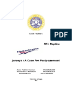 Case Summary Reebok NPL